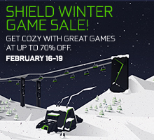 SHIELD Game Sale February