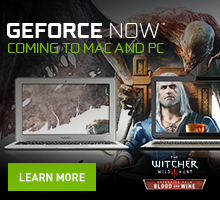 GeForce NOW Mac and PC