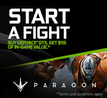 Paragon GAME READY pack