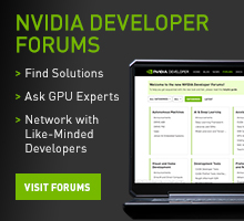 NVIDIA Developer Forums