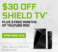 SHIELD TV - Dec Holiday Promo