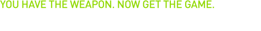 Receive a coupon for one free download of Borderlands 2 for the PC when purchasing any qualifying GeForce® GTX graphics card.