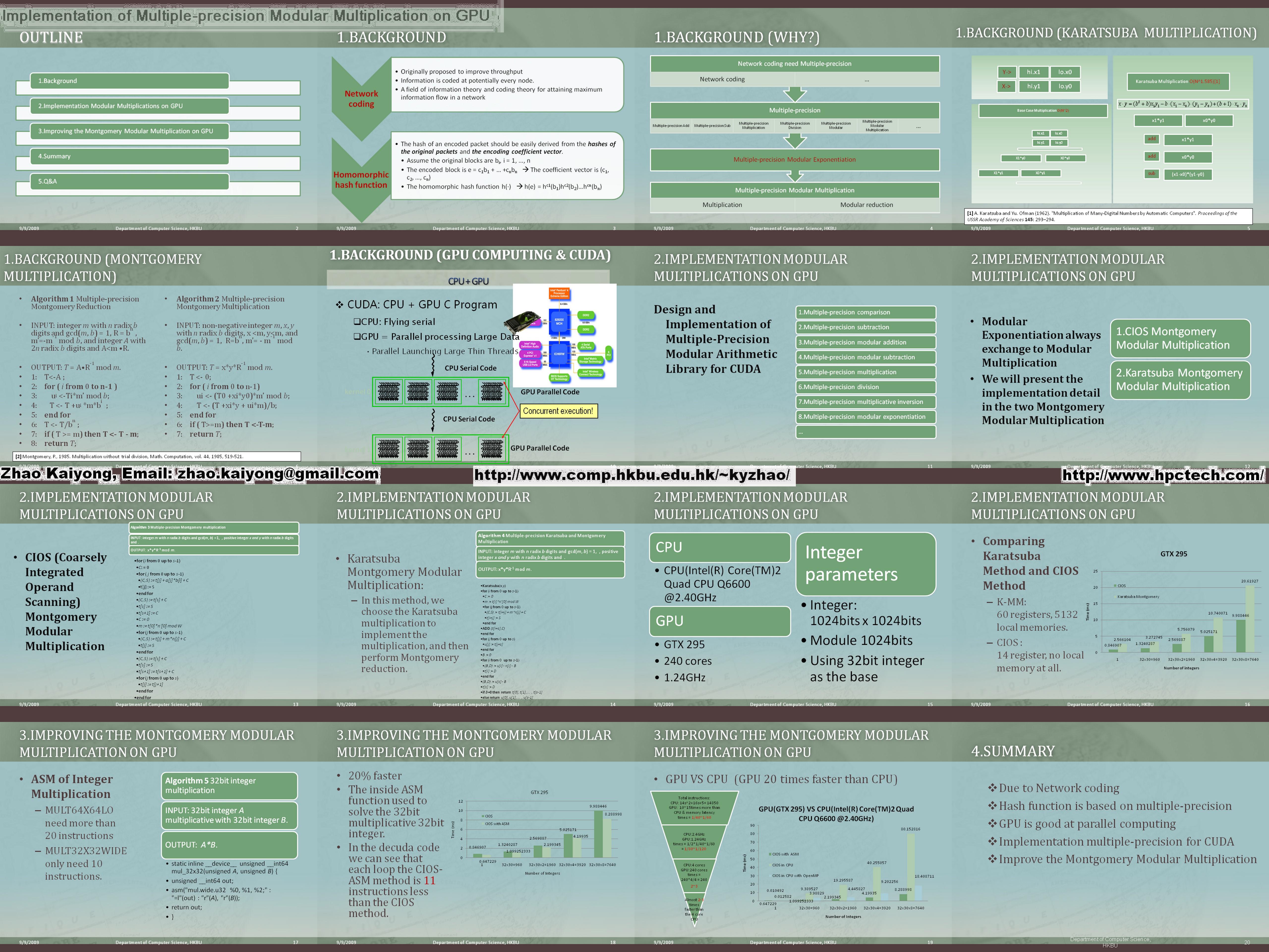 News from the web II (big compilation)   GPU computing