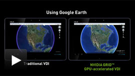Click to play - Responsive Google Earth