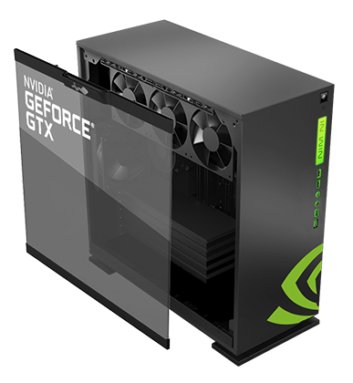 In Win And Nvidia 303 Atx Chassis Geforce