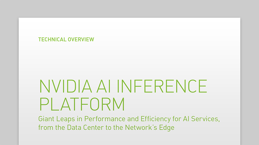 AI インファレンス 向け NVIDIA T4 Tensor コア GPU | NVIDIA Data Center