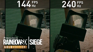 Hoge FPS in Tom Clancy's Rainbow Six Siege
