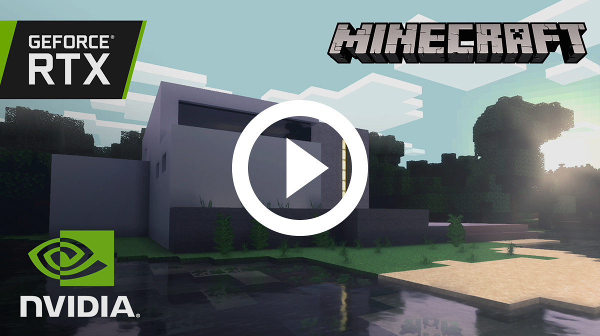 Minecraft Avec Geforce Rtx
