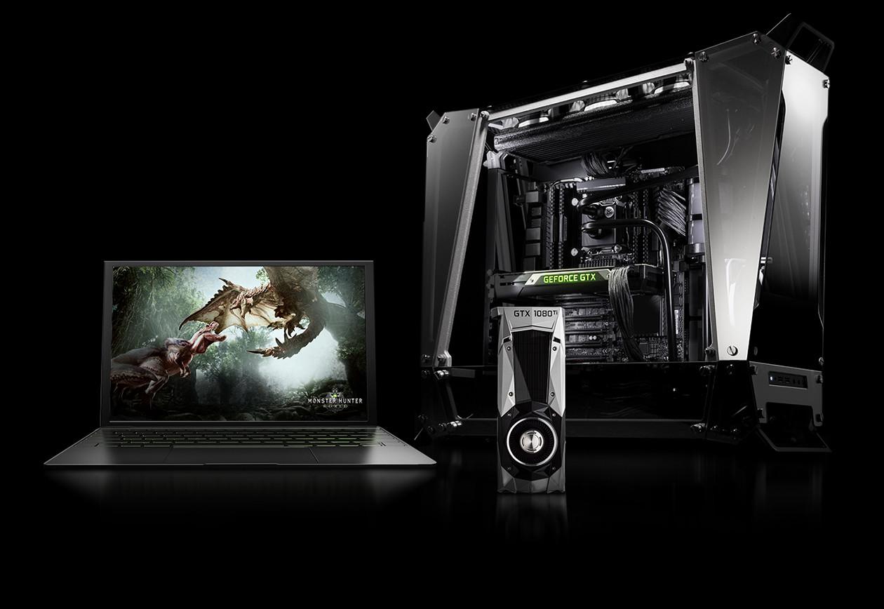 Monster Hunter: World bundle for GeForce GTX 10-series