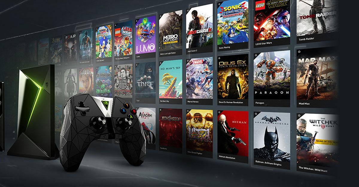 Игры на NVIDIA SHIELD TV