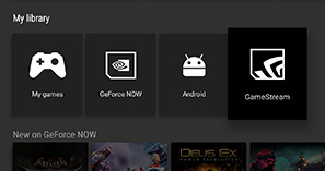 nvidia gamestream android