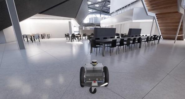 Virtual Simulator For Robots   NVIDIA Deep Learning & AI