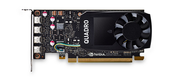 Quadro P1000 グラフィックス カード