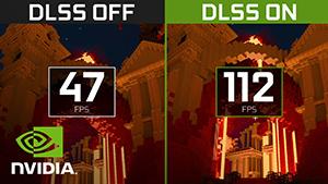 Minecraft RTX With DLSS