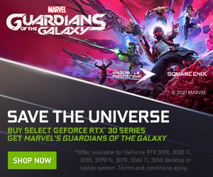 Gamers de GeForce están Game Ready para 'Marvel's Guardians of the Galaxy' con NVIDIA DLSS y Ray Tracing, ¡y 11 juegos más!