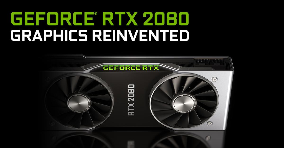 card màn hình dành cho chơi game GeForce RTX 2080