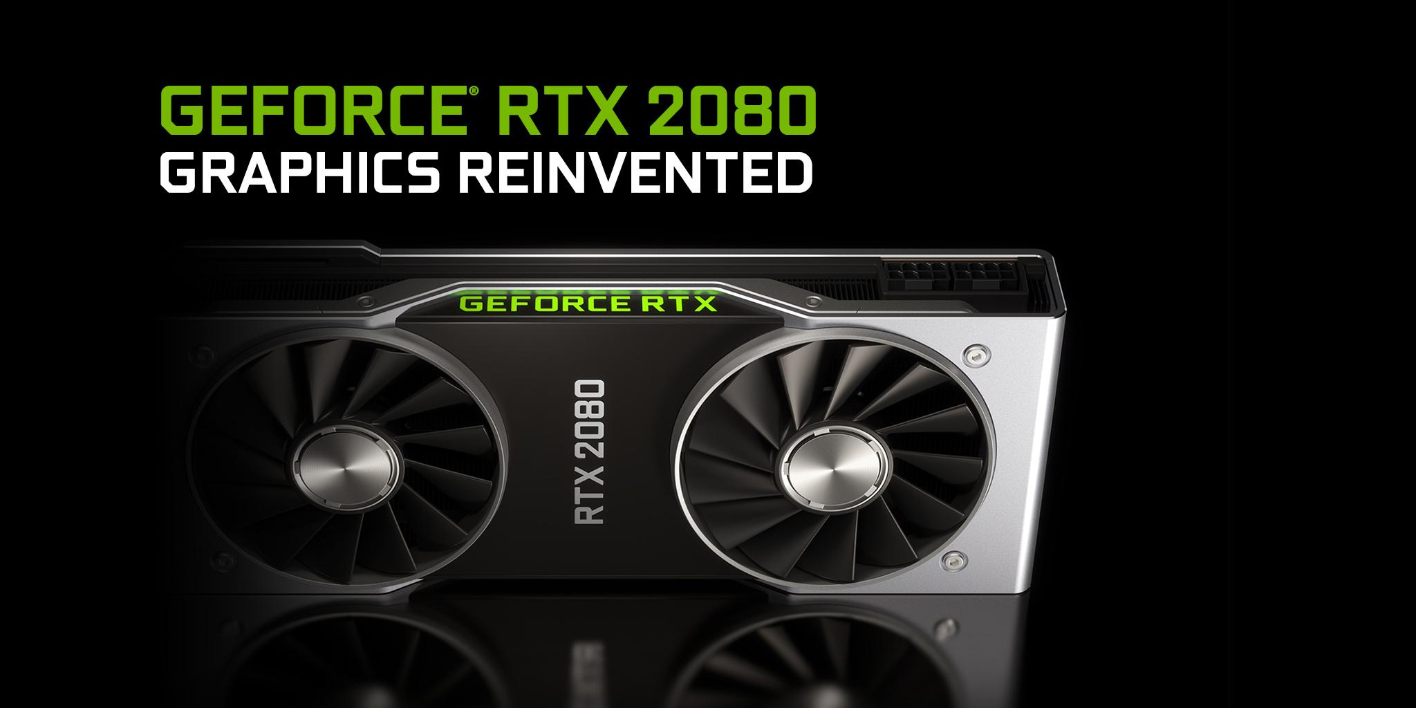 Geforce Rtx 2080 Graphics Card Nvidia