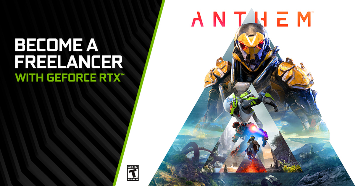 Anthem Adds NVIDIA DLSS And NVIDIA Highlights In New Update