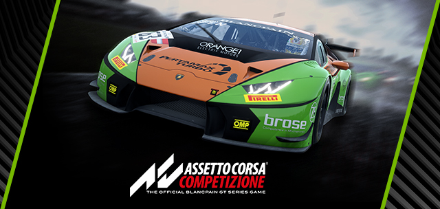 Assetto Corsa Competizione Shows-Off Its NVIDIA RTX Ray-Traced Reflections
