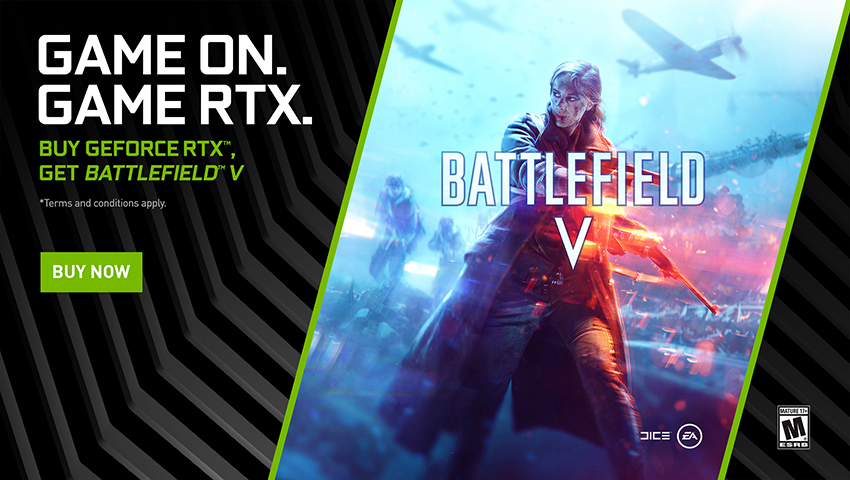 New Battlefield V Update and GeForce Game Ready Driver