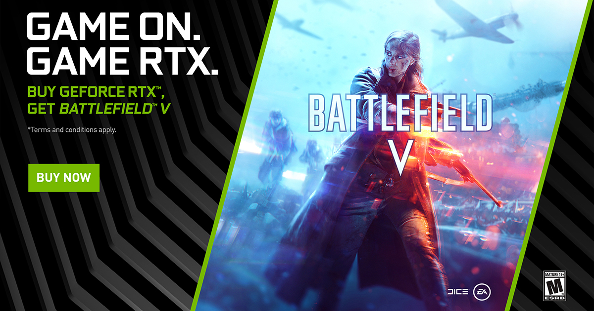 Announcing The GeForce RTX Battlefield V Bundle and NVIDIA Ansel
