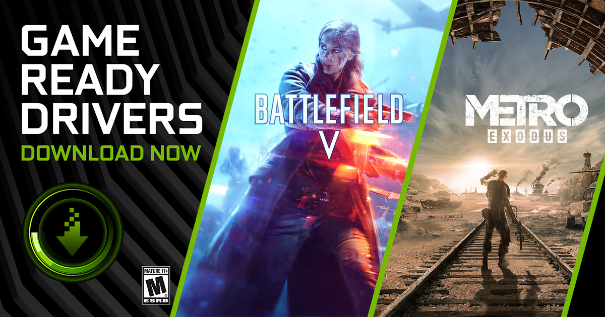 New Game Ready Driver Supports NVIDIA RTX Tech In