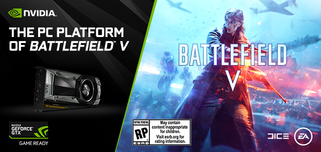 GeForce GTX, The PC Platform of Battlefield V