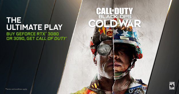 GeForce RTX Call of Duty: Black Ops Cold War Bundle Available Now