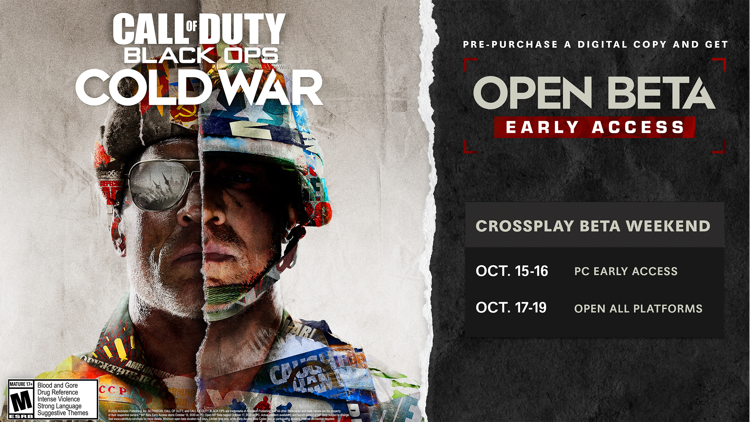 Call Of Duty Black Ops Cold War Pc Open Beta Early Access Begins October 15 Supports Nvidia Reflex And Highlights
