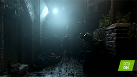 Call of Duty: Modern Warfare Ray-Traced Shadows NVIDIA RTX Interactive Screenshot Comparison