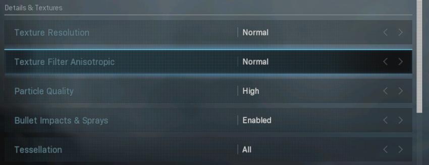 Cài đặt đổ bóng và chiếu sáng 240 FPS cho Call of Duty: Warzone