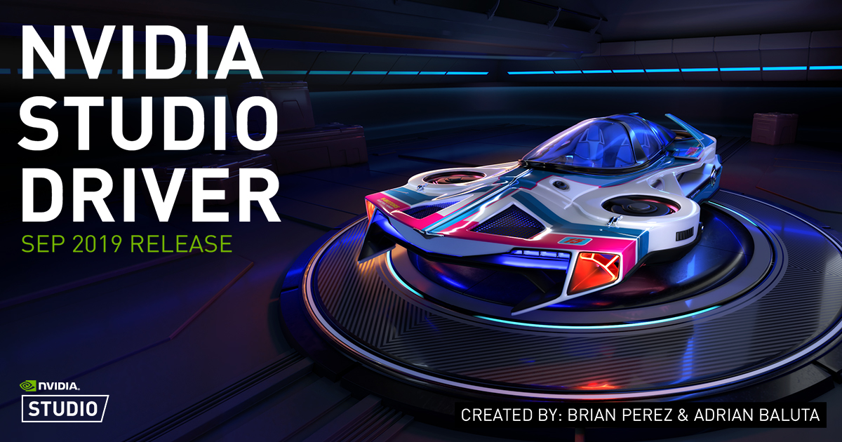 New Studio Driver Now Available, Optimizes Performance For