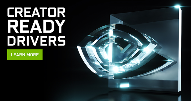 Available Now: Creator Ready Drivers Supercharge Creative Apps