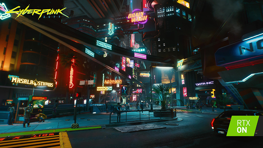 Cyberpunk 2077 GeForce RTX 30 Series Exclusive RTX ON Screenshot