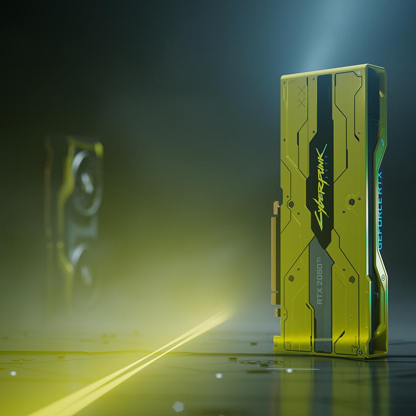 GeForce RTX 2080 Ti Cyberpunk 2077 Edition GPU