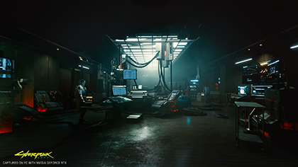 Cyberpunk 2077 NVIDIA GeForce RTX E3 2019 4K RTX On Exclusive Screenshot