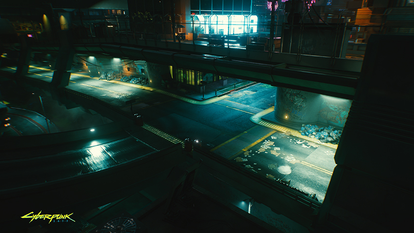 Cyberpunk 2077 NVIDIA GeForce RTX On Exclusive Screenshot