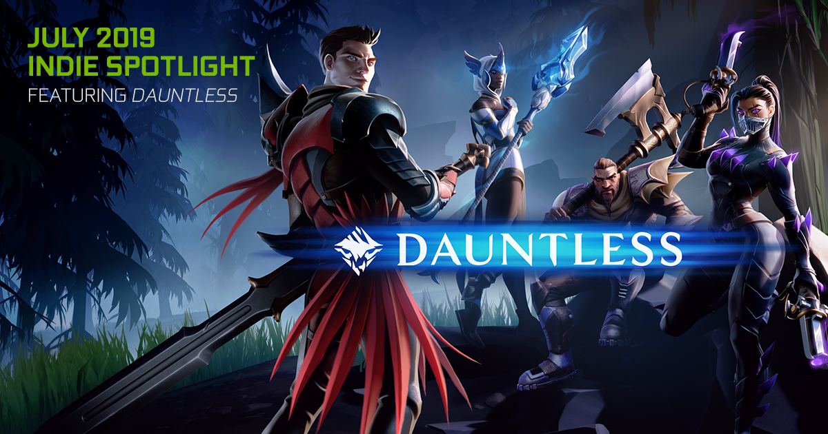 Free-to-play ARPG Dauntless is now available