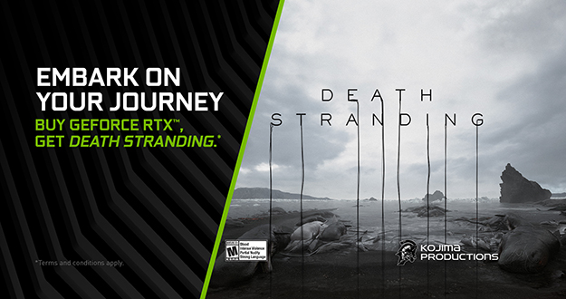 DEATH STRANDING GeForce RTX Bundle Available Now