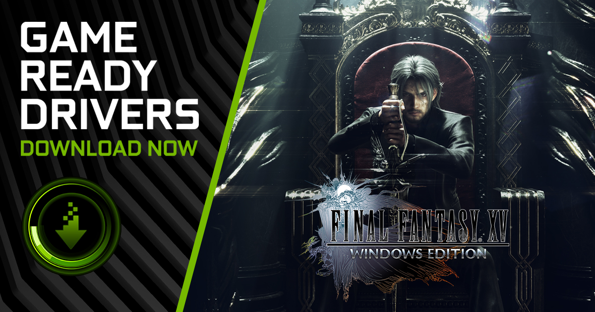 Game Ready Driver adds DLSS beta support for FINAL FANTASY