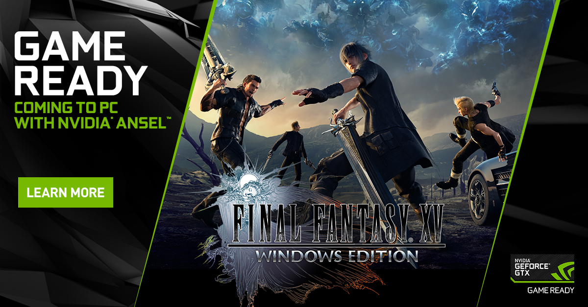 Final Fantasy XV Windows Edition Launches Early 2018 With A Slew Of