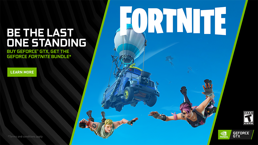 GeForce GTX Fortnite Bundle, Featuring The Counterattack Set