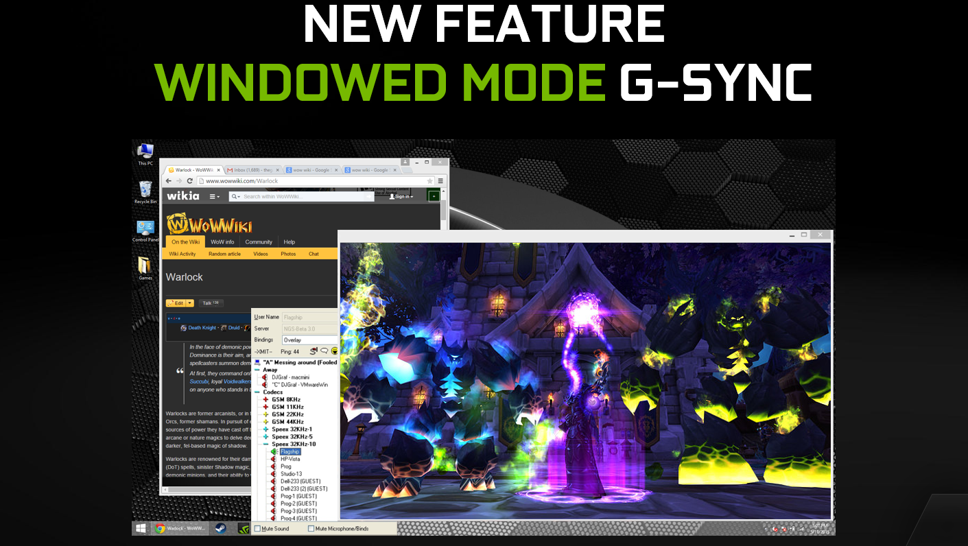 G-SYNC Gets Even Better With New Features, New Monitors & Game