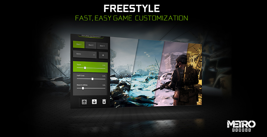 NVIDIA Freestyle: Fast, Easy Game Customization