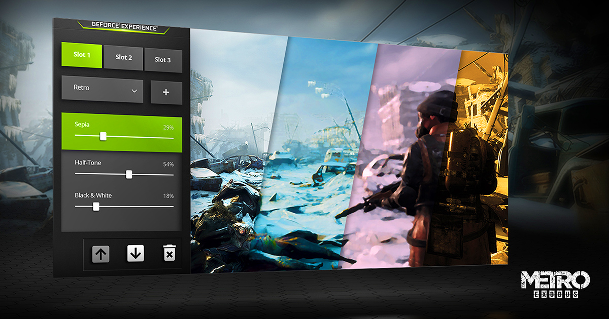 GeForce Experience Adds New Creative Tools With NVIDIA