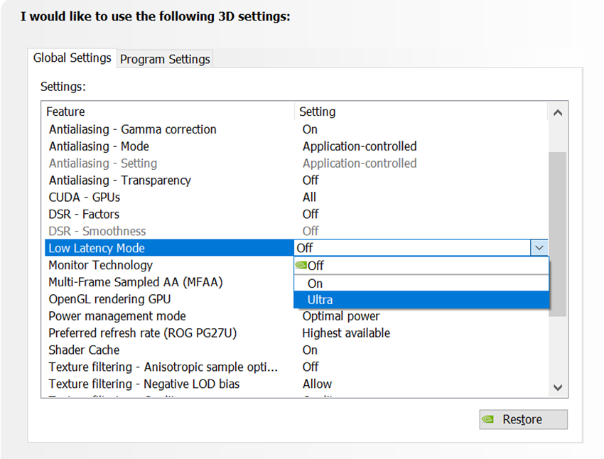 Best Nvidia Control Panel Settings 2020.New Game Ready Driver Released Includes Support For Geforce
