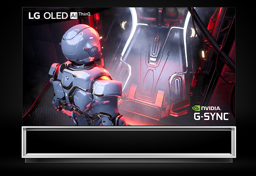 LG's OLED Real 8K TVs are G-SYNC Compatible and ready for 8K gaming on the GeForce RTX 3090