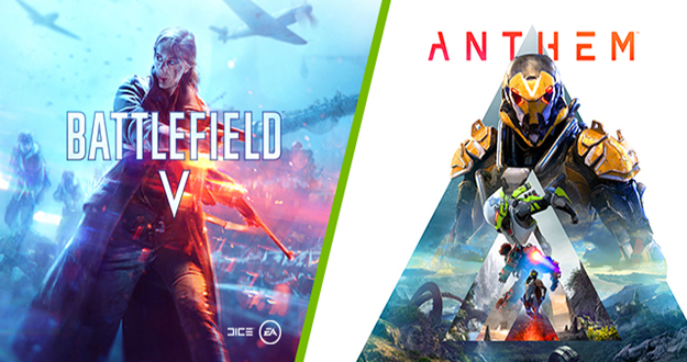 GeForce RTX Game On Bundle Brings You Anthem and Battlefield V. Learn More