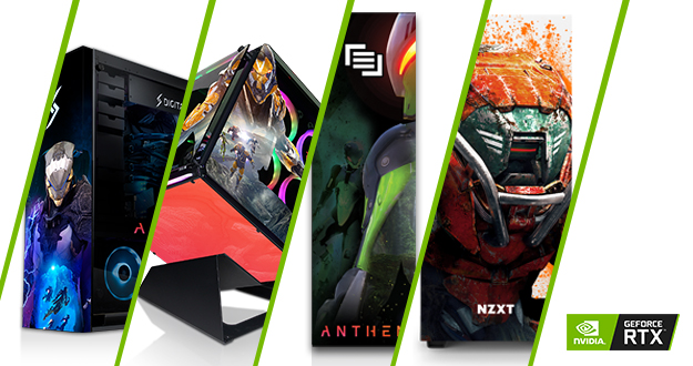 #LVLUP your squad with a chance to win a custom Anthem PC powered by GeForce RTX!