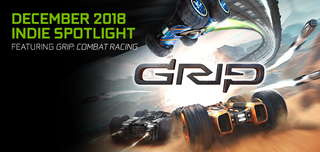 GRIP: Combat Racing, Featuring NVIDIA Ansel and Highlights, is available Now